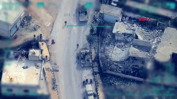 TSK'nın rejim hedeflerini vurduğu yeni son görüntüler paylaşıldı   Video