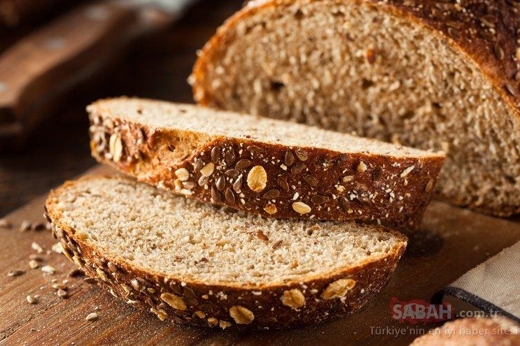 Ekmekte katkı maddesi olup olmadığını anlamanın yöntemi...