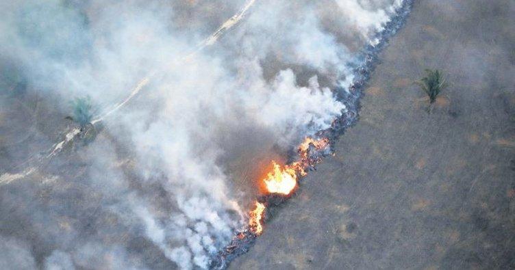 Brezilya'da 10 günde 15 bin yangın!