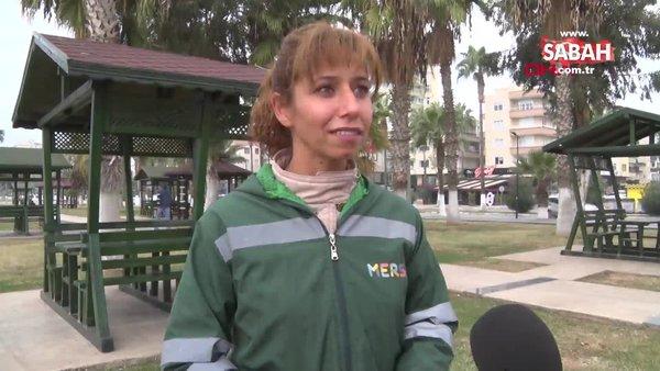 Mersin'de temizlik işçisi içinde 20 bin TL olan cüzdanı sahibine teslim etti | Video