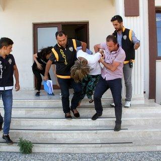 Cezaevi firarisi karı koca yakalandı