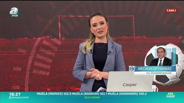 Sivasspor cephesinden play-off açıklaması