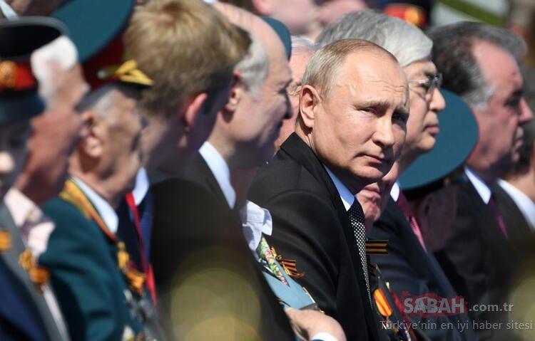 Son dakika: Corona virüs nedeniyle ertelenmişti! Rusya'da Zafer Günü töreni böyle düzenlendi