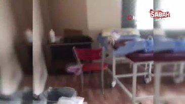 İstanbul Esenyurt'ta kaçak doğumhaneye baskın kamerada   Video
