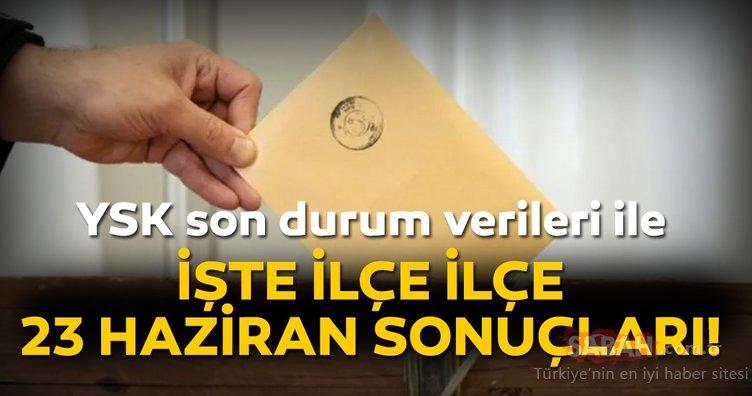 Son dakika haber: YSK kesin oy oranları ve ilçe ilçe İstanbul seçim sonuçları! İşte Ekrem İmamoğlu ve Binali Yıldırım'ın oy oranları
