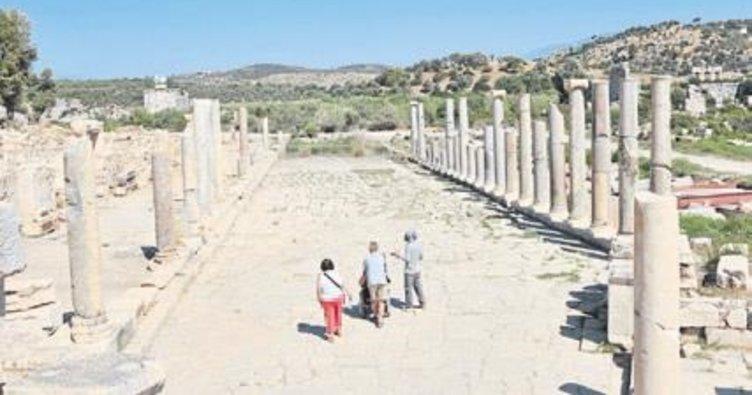 Patara'da kurs düzenlendi