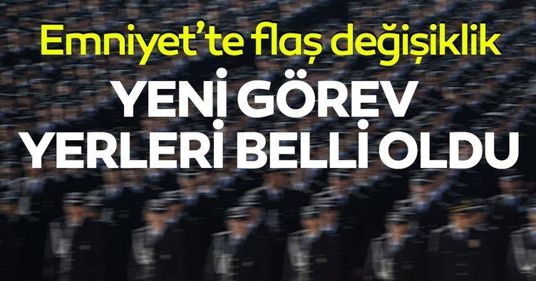 SON DAKİKA! İstanbul Emniyeti'nde flaş görev değişiklikleri! Organize Şube ve Koruma Şube'de...