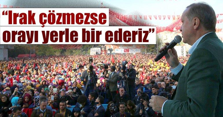 Son dakika: Cumhurbaşkanı Erdoğan, Irak ve Suriye'deki tüm terör kamplarını yerle bir edeceğiz