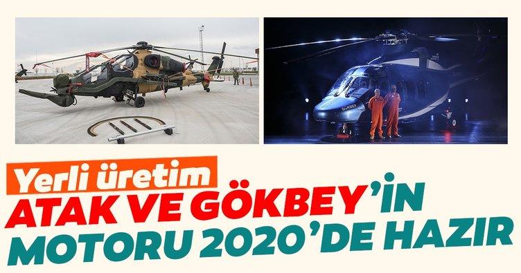 Atak ve Gökbey'in motoru 2020'de hazır