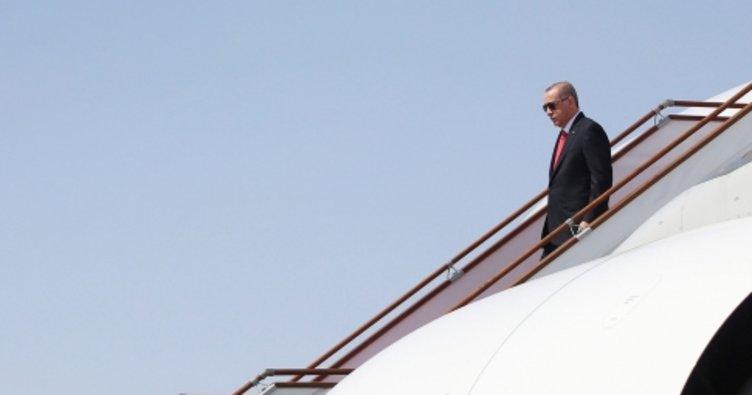 Cumhurbaşkanı Erdoğan Azerbaycan'dan ayrıldı