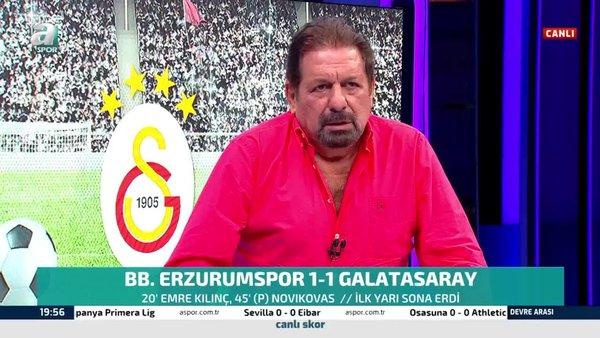 Galatasaray'ın golünden önce faul var mı? Erman Toroğlu yorumladı