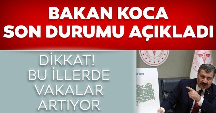 SON DAKİKA: Sağlık Bakanı Fahrettin Koca '1 Ağustos' vaka ve vefat sayılarını açıkladı: Bu illerde...
