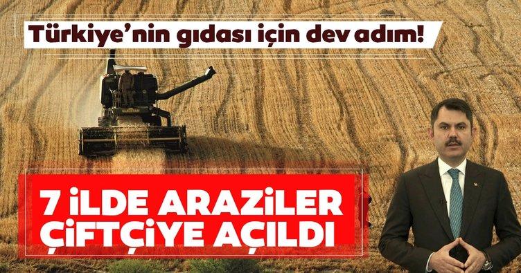 Türkiye'nin gıdası için dev adım