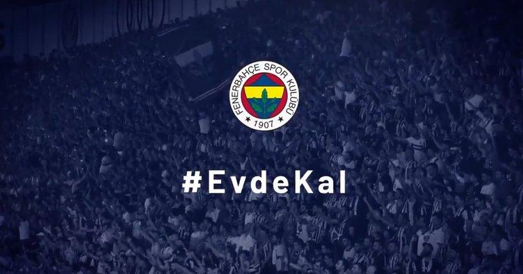 Fenerbahçe'den 'Evde kal' paylaşımı