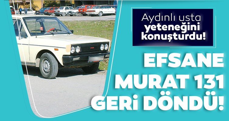 Çürümüş Murat 131'i tepeden tırnağa yeniledi!...