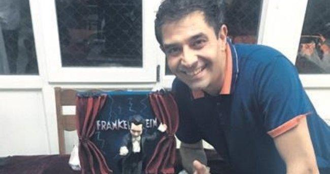 43 yaşına giren Elçin'e Frankenstein pastası