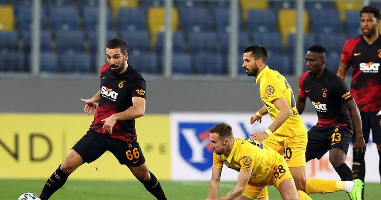Son dakika: Galatasaray Ankara'da büyük hasar gördü! Üç gol bir kırmızı kart...