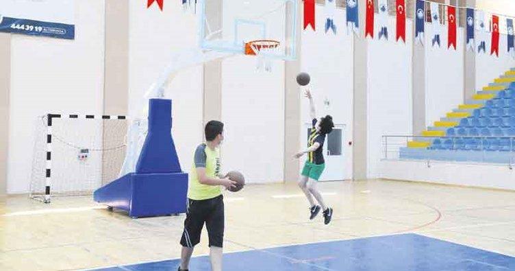 Altındağ'da basketbol zamanı