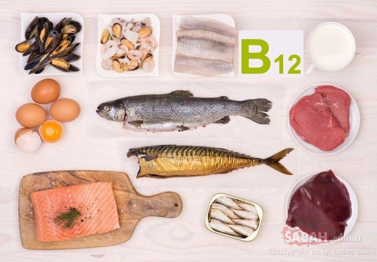 B12 vitamin eksikliğinin çaresi bu besinde! İşte B12 eksikliğini gideren besinler...