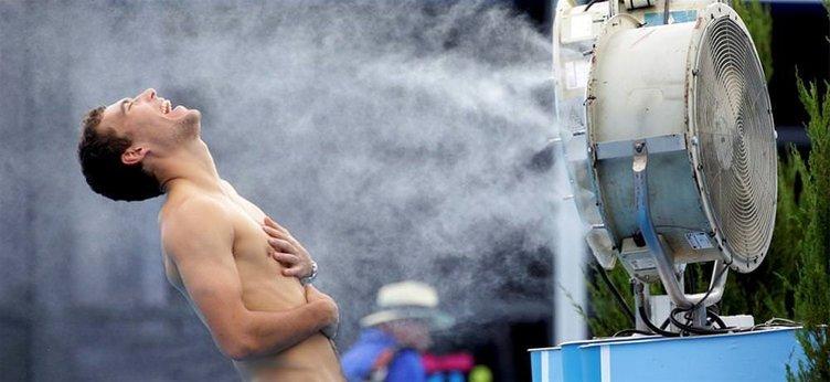 Avustralya Açık 'yanıyor'