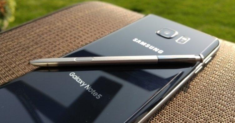 Galaxy Note 5 için yeni güncelleme!