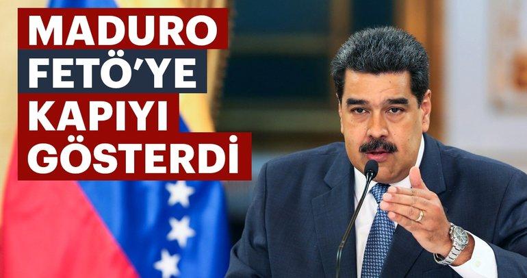 Maduro FET֒ye kapıyı gösterdi