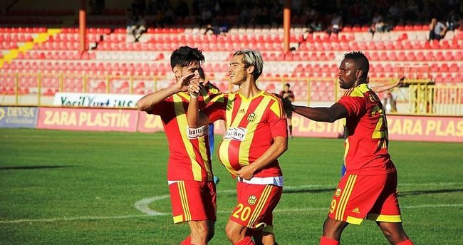 Yeni Malatyaspor'dan gol yağmuru