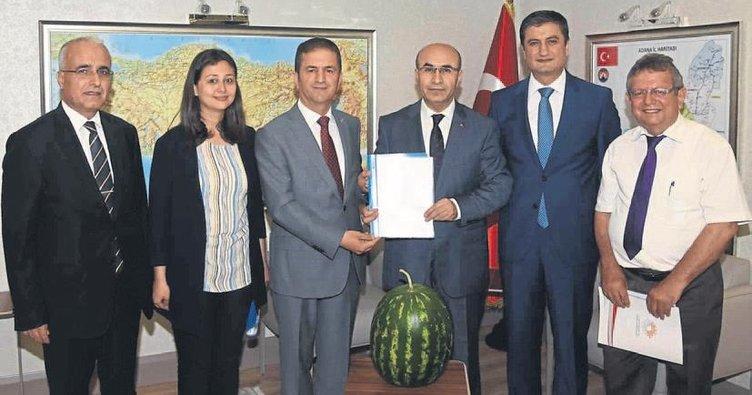 Adana karpuzu markalaşıyor