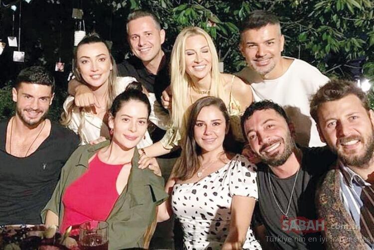 Berk Oktay güzel oyuncuya aşkını sosyal medyadan haykırdı! Berk Oktay ile Yıldız Çağrı Atiksoy'dan ilk poz!