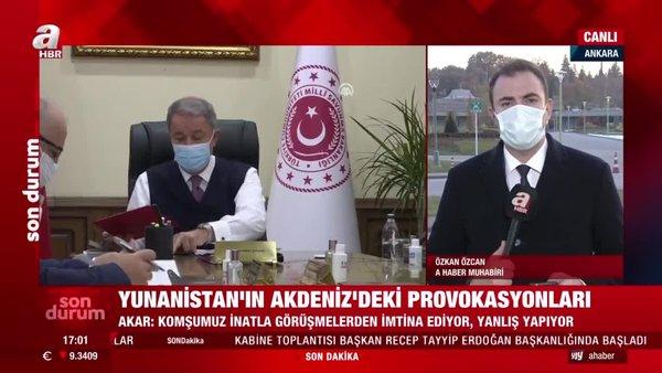 Son dakika| Bakan Akar'dan CHP'li vekilin 'Türk Ordusu'nu hedef alan sözlerine sert tepki: