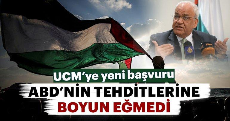 Filistin'den ABD'nin baskılarına rağmen UCM'ye yeni başvuru