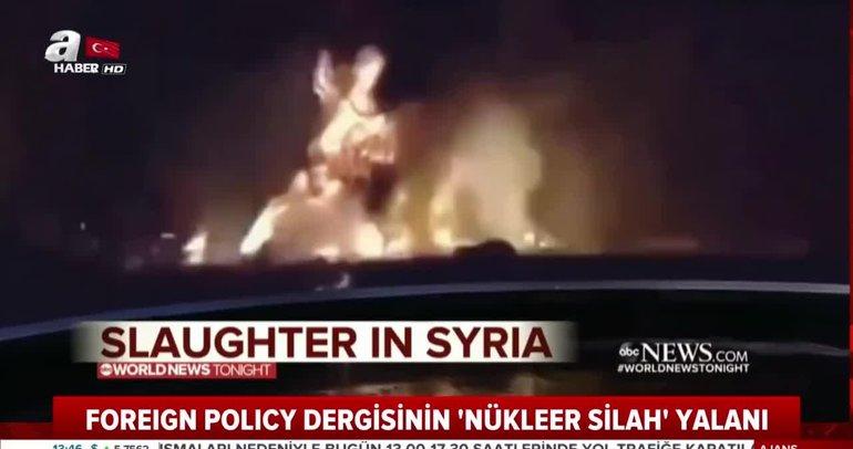 ABD'li dergiden bir yalan haber daha... Foreign Policy Dergisi'nden Türkiye ile ilgili nükleer silah yalanı!