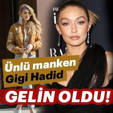 Ünlü manken Gigi Hadid gelin oldu!