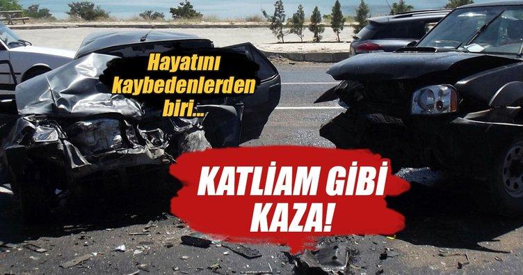 Elazığ'da feci kaza: 3 ölü, 2 yaralı