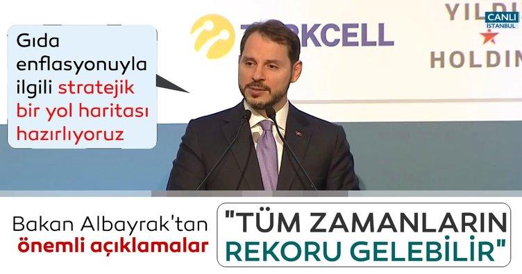 Bakan Berat Albayrak'tan 22. Uluslarası İş Forumu'nda önemli açıklamalar!