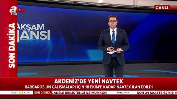 Son dakika! Akdeniz'de yeni NAVTEX | Video