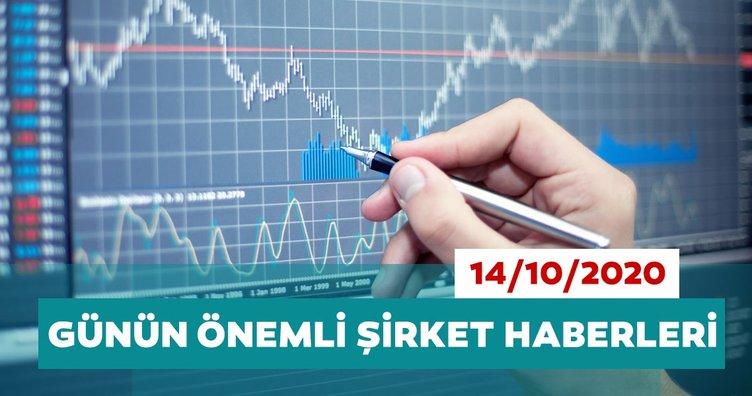 Borsa İstanbul'da günün öne çıkan şirket haberleri ve tavsiyeleri 14/10/2020
