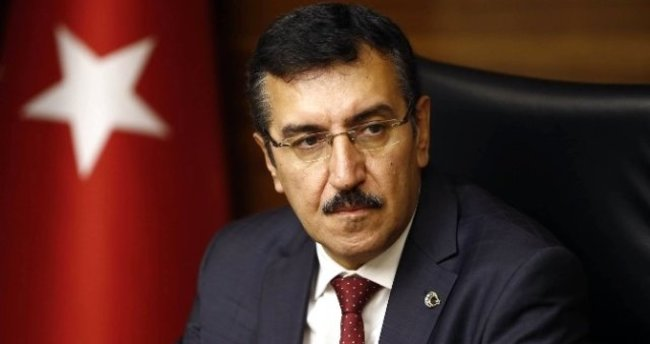 """Bakan Tüfenkci: """"Biz sırtımızı halka ve Hakka dayadık"""""""