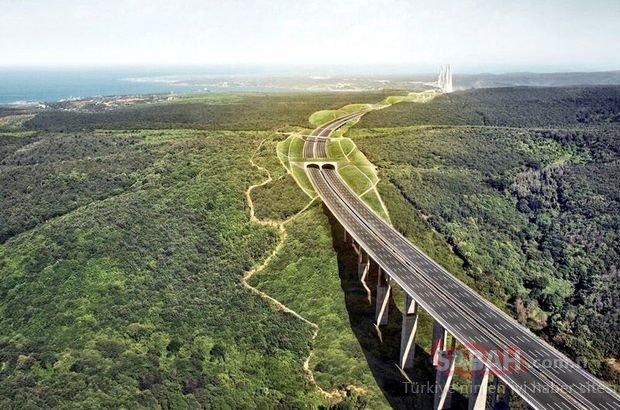 Kuzey Marmara Otoyolu Projesi'nde bir bölüm daha trafiğe açıldı!