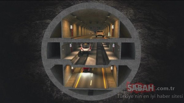 Büyük İstanbul Tüneli'nin planlamaları tamamlandı