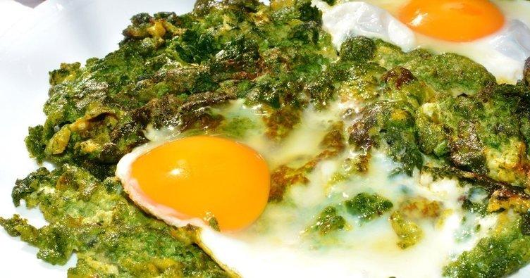 Yumurtalı ıspanak kansızlığa iyi geliyor!