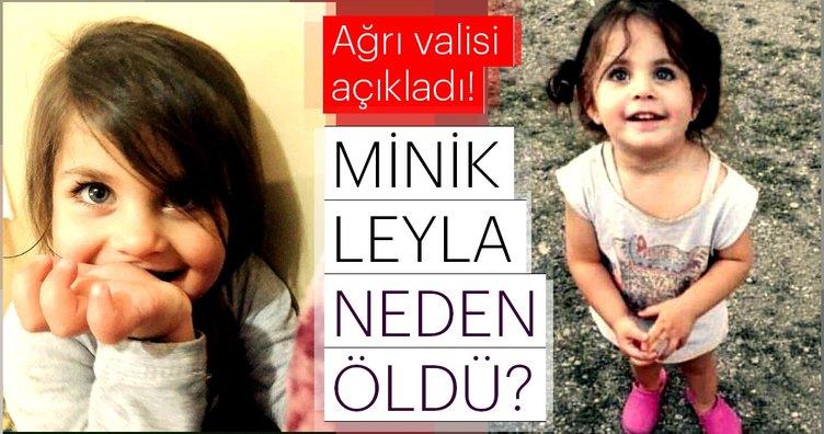 Son Dakika Haberi: Leyla Aydemir'in ölüm nedeni ile ilgili Ağrı Valisi'nden flaş açıklama! - Leyla'nın katili kim?