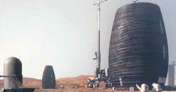 İşte Mars'ın toplu konutları