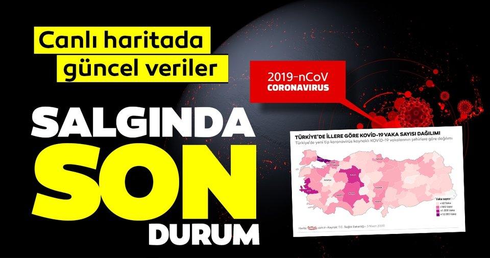 Son Dakika Haberleri | Corona virüsü vaka sayısı ve ölü sayısı kaç oldu? 5 Nisan Türkiye'de hangi şehirde kaç vaka var? Canlı corona virüs haritası