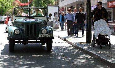 Ankara'da sokağa çıktı herkes şaşkına döndü!