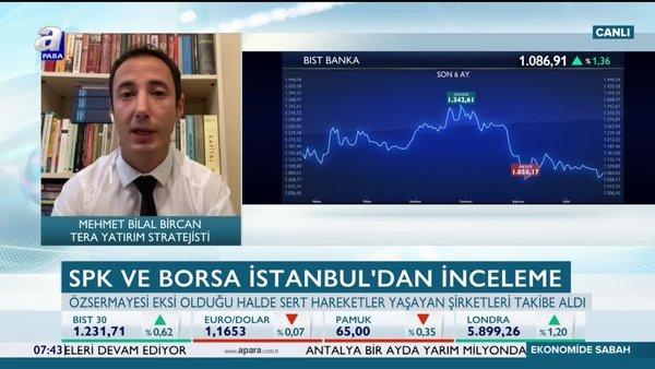Banka hisseleri yükselecek mi? Mehmet Bilal Bircan: BDDK'tan gelebilecek olumlu adımlar bankaları yukarı taşır