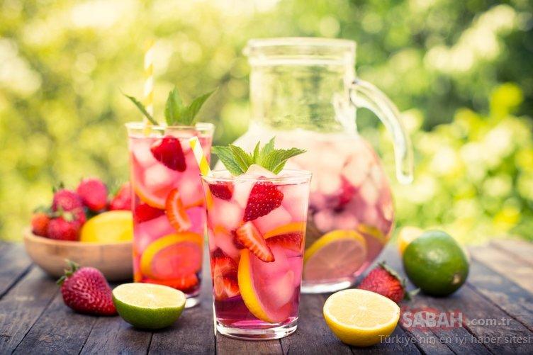 Yaz ayında ferahlatan yaz lezzet tarifi!