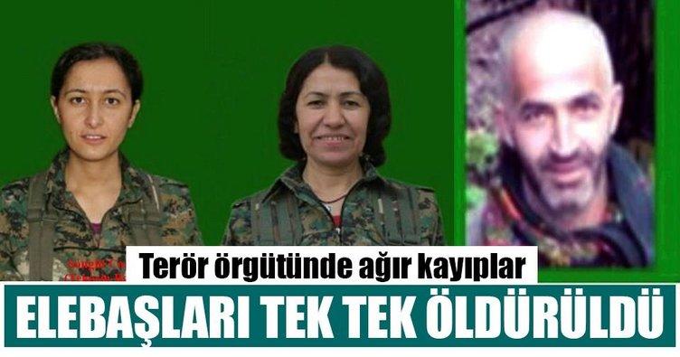 Son Dakika: PKK ve YPJ'nin elebaşları tek tek öldürüldü!