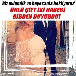 Canan Ergüder ve Kenan Ece evlendi!