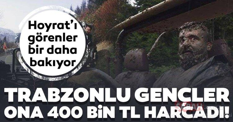 Trabzonlu gençler 2 yılda yaptı! 'Hoyrat'a 400 bin TL harcadılar